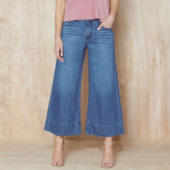 dbb3227705f0 PARKER SMITH Jeans | Palazzo Cropped Denim Pants | Poshmark